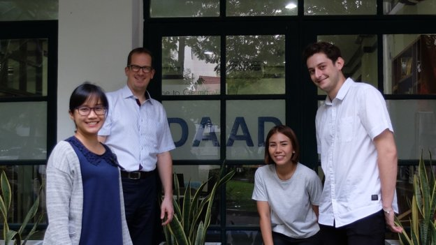 Team des DAAD Informationszentrums Bangkok